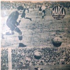 Coleccionismo deportivo: MARCA SEMANARIO GRÁFICO DEPORTIVO NÚMERO 51 FECHA 16 DE NOVIEMBRE DE 1943. Lote 263205400