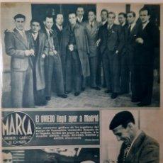 Coleccionismo deportivo: MARCA SEMANARIO GRÁFICO DEPORTIVO NÚMERO 52 FECHA 23 DE NOVIEMBRE DE 1943. Lote 263205605
