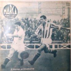 Coleccionismo deportivo: MARCA SEMANARIO GRÁFICO DEPORTIVO NÚMERO 54 FECHA 7 DE DICIEMBRE DE 1943. Lote 263205850