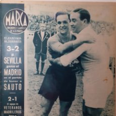 Coleccionismo deportivo: MARCA SEMANARIO GRÁFICO DEPORTIVO NÚMERO 66 FECHA 29 DE FEBRERO DE 1944. Lote 263206025