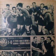 Coleccionismo deportivo: MARCA SEMANARIO GRÁFICO DEPORTIVO NÚMERO 74 FECHA 25 DE ABRIL DE 1944. Lote 263206500