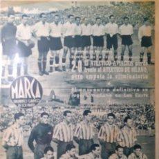 Coleccionismo deportivo: MARCA SEMANARIO GRÁFICO DEPORTIVO NÚMERO 82 FECHA 20 DE JUNIO DE 1944. Lote 263206710