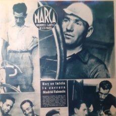 Coleccionismo deportivo: MARCA SEMANARIO GRÁFICO DEPORTIVO NÚMERO 87 FECHA 25 DE JULIO DE 1944. Lote 263206970