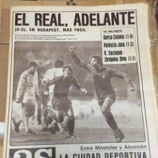 Coleccionismo deportivo: AS(5-11-1980)BARCELONA 1-0 COLONIA VALENCIA 1-3 JENA HONVED 0-2 REAL MADRID JOHNNY OWEN GOYENECHEA. Lote 263639340