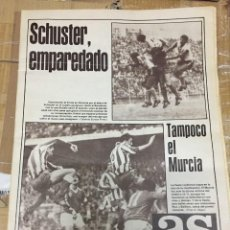 Coleccionismo deportivo: AS (3-11-1980) BARCELONA ELCHE RECREATIVO HUELVA ATLETICO MADRID MURCIA REAL MADRID VALENCIA. Lote 263639560