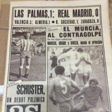 Coleccionismo deportivo: AS (2-11-1980) LAS PALMAS 1-0 REAL MADRID ATLETICO MADRID MURCIA CARMELO CEDRUN. Lote 263639695
