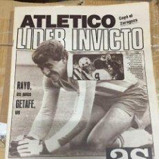 Coleccionismo deportivo: AS (20-10-1980) RAYO GETAFE ATLETICO MADRID LIDER SEVILLA ZARAGOZA CASTELLON ANGEL NIETO. Lote 263641925