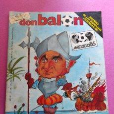 Coleccionismo deportivo: REVISTA DON BALON Nº 556 1986 MUNDIAL MEXICO 86 - ESPAÑA WORLD CUP - FASCICULO HISTORIA MUNDIALES. Lote 263642135