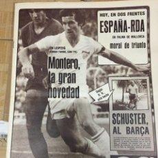 Coleccionismo deportivo: AS (15-10-1980) MONTERO ALEMANIA ESPAÑA CRESPO GETAFE ITO SALAMANCA SEGARRA HELIOS JUVENTUD SCHUSTER. Lote 263642740