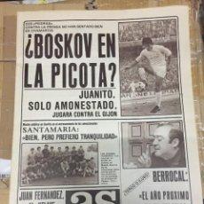 Coleccionismo deportivo: AS (9-10-1980) MARCOS KELME BOSKOV CASTAÑON BOXEO LLOPIS NUÑEZ BARCELONA ROURA TENIS RUAN HOCKEY. Lote 263645435