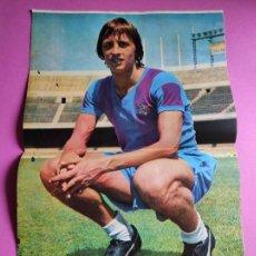 Coleccionismo deportivo: REVISTA AS COLOR Nº 122 POSTER CRUYFF FC BARCELONA 73/74 BARÇA 1973/1974 - VOLTA CATALUNYA. Lote 263649365