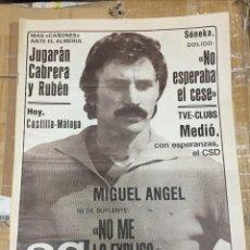 Coleccionismo deportivo: AS (20-9-1980) MIGUEL ANGEL REAL MADRID BETANCORT BALONCESTO ESPAÑA. Lote 263665470