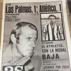 Coleccionismo deportivo: AS (14-9-1980) LAS PALMAS 1-1 ATLETICO MADRID REAL MADRID ATHLETIC BILBAO BATA GRAU ANGEL NIETO MOTO. Lote 263668805