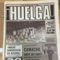 Coleccionismo deportivo: AS (3-9-1980) HUELGA AFE VFB STUTTGART COPA UEFA 50 AÑOS DE LA LIGA ATHLETIC BILBAO ZERAVICA. Lote 263671265