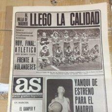 Coleccionismo deportivo: AS (20-8-1980) TROFEO VILLA MADRID ATLETICO MADRID CSKA SOFIA AJAX INTERNACIONAL BAYERN MUNCHEN PELE. Lote 263675430