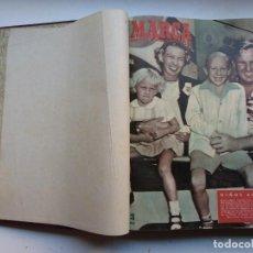 Coleccionismo deportivo: MARCA, SEMANARIO GRAFICO DE LOS DEPORTES - 1 TOMO - 26 NUMEROS, AÑO 1951. Lote 263741510