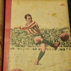 Colecionismo desportivo: 54 REVISTAS MARCA 1948 - DEL NUM 185 AL 239 , TOMO ENCUADERNADO.. Lote 263889125