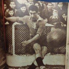 Colecionismo desportivo: 46 REVISTAS MARCA 1945 - DEL NUM 138 AL 184 , TOMO ENCUADERNADO.. Lote 263890255