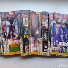 Coleccionismo deportivo: DON BALON - 29 REVISTAS - AÑOS 1990-2000 - VER DESCRIPCION Y FOTOS ADICIONALES. Lote 264031015