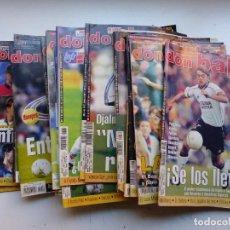 Coleccionismo deportivo: DON BALON - 26 REVISTAS - AÑOS 1990-2000 - CONTIENEN POSTER CENTRAL O SUPLEMENTO INTERIOR. Lote 264036760
