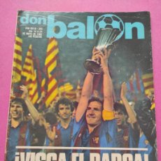Coleccionismo deportivo: REVISTA DON BALON Nº 345 FC BARCELONA CAMPEON RECOPA EUROPA 81/82 - BARÇA STANDARD LIEJA. Lote 264124155