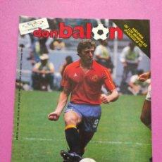 Coleccionismo deportivo: DON BALON Nº 558 SELECCION ESPAÑOLA MUNDIAL MEXICO 1986 WC 86 BUTRAGUEÑO DINAMARCA EL BUITRE-LAUDRUP. Lote 264142072