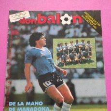 Collezionismo sportivo: REVISTA DON BALON Nº 559 SELECCION ARGENTINA CAMPEON MUNDIAL MEXICO 86 - WORLD CUP 1986 WC MARADONA. Lote 264142380