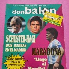 Coleccionismo deportivo: REVISTA DON BALON Nº 763 ESPECIAL MUNDIAL ITALIA 90 - MARADONA WORLD CUP ITALY 90 WC. Lote 264149140