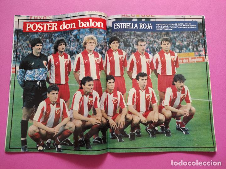 REVISTA DON BALON Nº 815 ESTRELLA ROJA CAMPEON COPA DE EUROPA 90/91 POSTER RED STAR WINNER 1990/1991 (Coleccionismo Deportivo - Revistas y Periódicos - Don Balón)