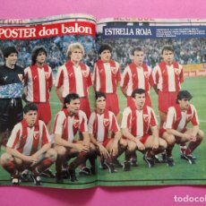 Coleccionismo deportivo: REVISTA DON BALON Nº 815 ESTRELLA ROJA CAMPEON COPA DE EUROPA 90/91 POSTER RED STAR WINNER 1990/1991. Lote 264151984