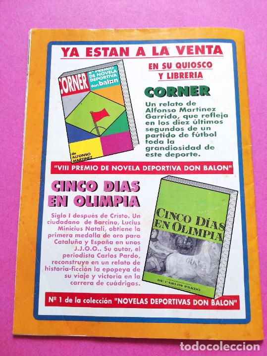 Coleccionismo deportivo: REVISTA DON BALON Nº 867 FC BARCELONA CAMPEON LIGA 91/92 POSTER BARÇA DOBLETE 1991/1992 - Foto 5 - 264152732