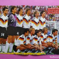 Coleccionismo deportivo: REVISTA DON BALON Nº 768 ESPECIAL MUNDIAL ITALIA 90 - POSTER FINAL ALEMANIA ARGENTINA WORLD CUP 1990. Lote 241881035
