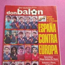 Collectionnisme sportif: REVISTA DON BALON Nº 661 1988 ESPECIAL EUROCOPA ALEMANIA 88 EURO SELECCION ESPAÑOLA - ASCENSO OVIEDO. Lote 264297036