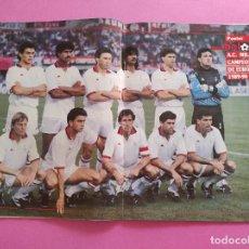 Collezionismo sportivo: REVISTA DON BALON Nº 762 AC MILAN CAMPEON COPA EUROPA 89/90 POSTER WINNER CHAMPIONS LEAGUE 1989-1990. Lote 264297808