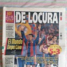 Coleccionismo deportivo: MUNDO DEPORTIVO 22532 13 DE MARZO DE 1994 BARCELONA BARCA - ATLÉTICO 5-3. Lote 264522194