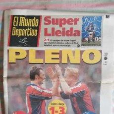Coleccionismo deportivo: MUNDO DEPORTIVO 22535 7 DE MARZO 1994 OVIEDO - BARCA BARCELONA 1-3. Lote 264791739