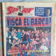 Coleccionismo deportivo: SPORT 5214 16 DE MAYO 1994 VISCA BARCELONA BARCA VISCA CATALUNYA 4ª LIGA. Lote 265113009