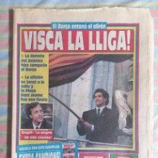 Colecionismo desportivo: SPORT 4128 13 DE MAYO1991 VISCA LA LLIGA CELEBRACIÓN BARCA CAMPEÓN LIGA 1990-91. Lote 265120259