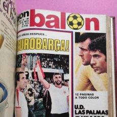Coleccionismo deportivo: TOMO 15 REVISTAS DON BALON 1979 Nº 177-178-179-180-181-182-183-184-185-186-187-188-189-190-191 CROMO. Lote 265436504
