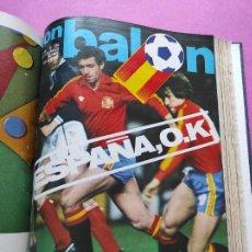 Coleccionismo deportivo: TOMO 17 REVISTAS DON BALON 81/82 318-319-320-321-322-323-324-325-326-327-330-331-332-333-334-335-336. Lote 265444214