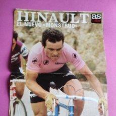 Coleccionismo deportivo: REVISTA AS COLOR Nº 474 1980 ESPAÑA-ITALIA EURO 80 - ASCENSO PRIMERA REAL MURCIA POSTER HINAULT GIRO. Lote 265447294
