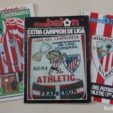 Coleccionismo deportivo: LOTE REVISTA DON BALÓN. ESPECIALES ATHLETIC DE BILBAO. LIGA, CENTENARIO Y COLECCIONABLE.. Lote 195484121