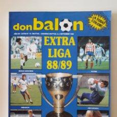 Coleccionismo deportivo: REVISTA DON BALÓN EXTRA LIGA 88 89 N° 16. SEPTIEMBRE 1988. 204 PÁGINAS. VER FOTOS.. Lote 266190308