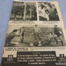 Collectionnisme sportif: VIDA DEPORTIVA Nº: 922(13-5-63)ELCHE SUPERIOR AL BARÇA EN ALTABIX,VARIAS FOTOS DE PAZOS,LUIS SUAREZ. Lote 266203803