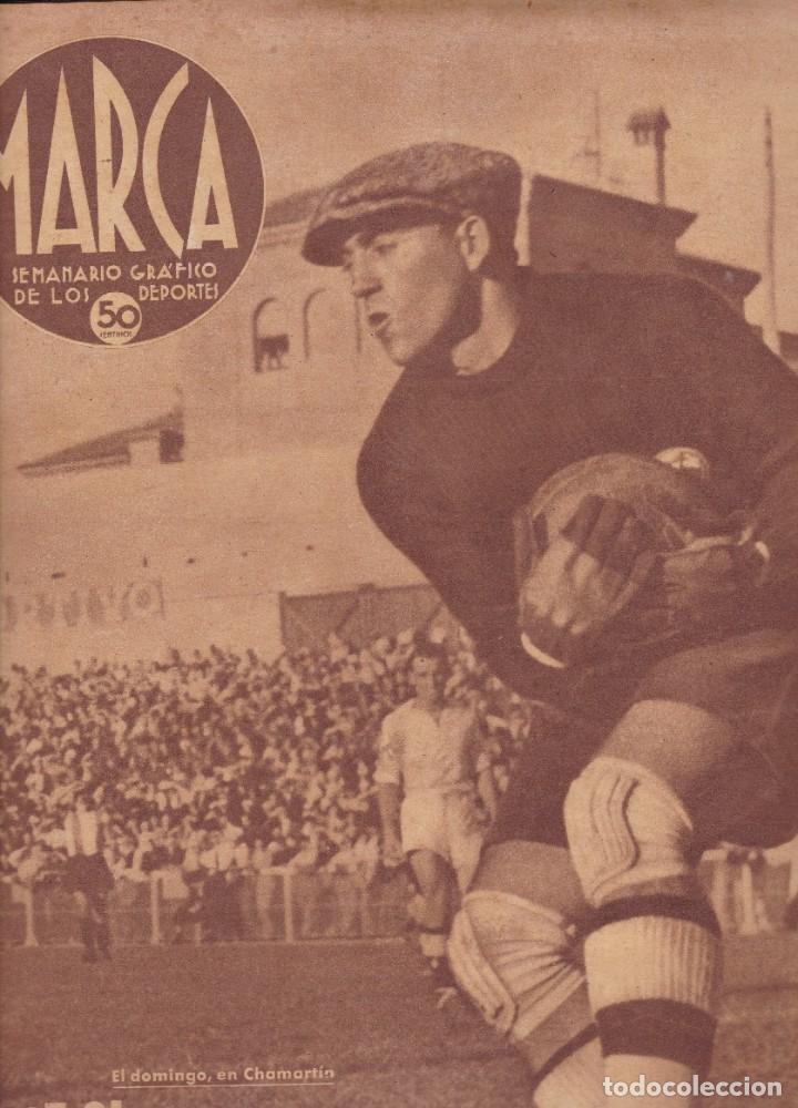 MARCA 1940 Nº 87 MADRID VENCÍÓ AL HERCULES DE ALICANTE HIPISMO CARRERAS DE CABALLOS (Coleccionismo Deportivo - Revistas y Periódicos - Marca)