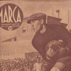 Coleccionismo deportivo: MARCA 1940 Nº 87 MADRID VENCÍÓ AL HERCULES DE ALICANTE HIPISMO CARRERAS DE CABALLOS. Lote 266429428