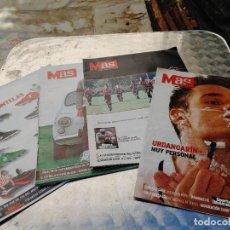 Colecionismo desportivo: LOTE 4 REVISTA MAS Nº 3-6-10-13 (1997) DEL DIARIO AS. Lote 266453933