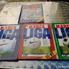 Coleccionismo deportivo: 4 GUIAS MARCA LIGA 95-96, 96 97, 97 98, 98 99 Y ANUARIO AGENDA DEL DEPORTE 1997 EDICION ESPECIAL. Lote 266455073
