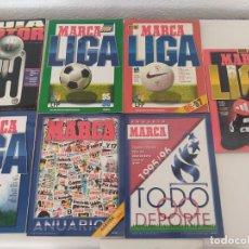 Collezionismo sportivo: 4 GUIAS MARCA 1 GUIA MARCA MOTOR Y 2 ANUARIOS MARCA. AÑOS 1990,S VER FOTOS.. Lote 266560508