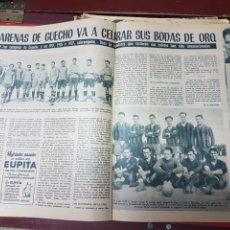 Coleccionismo deportivo: BODAS DE ORO DEL ARENAS DE GUECHO 1959. Lote 266570793